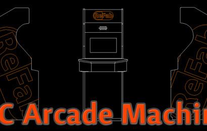 ReFab Brand Arcade Machine