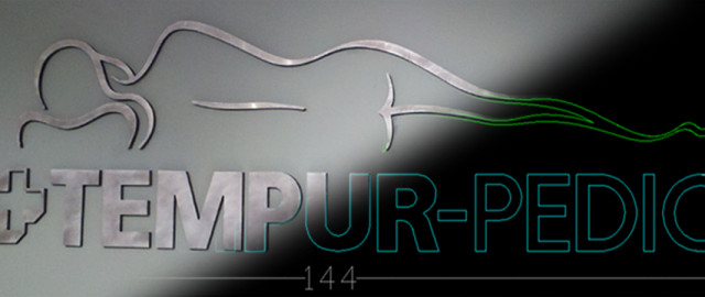 The Tempur-pedic Sign