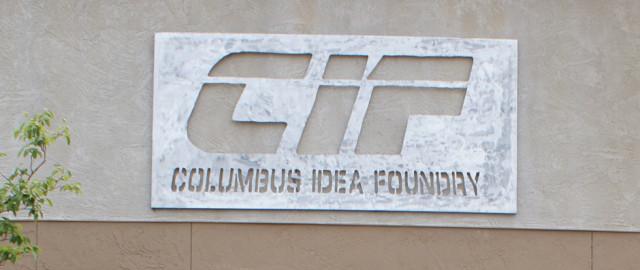 Columbus Idea Foundry Sign