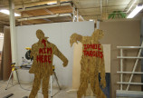 Zombie Shooting Targets on the Shopbot CNC Router
