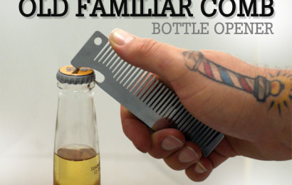 Laser Cut Stainless Comb Bottle Opener