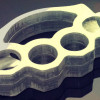 Brass Knuckle Bicycle Pedals Prototype