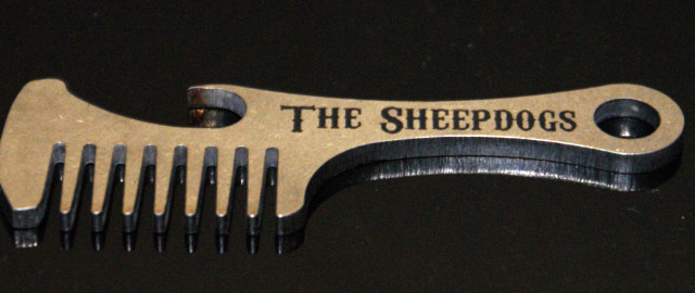 Beard/Mustache Comb Bottle Openers for The Sheepdogs