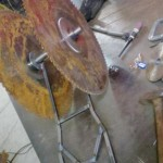 Scorpion welding table
