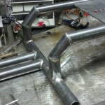 Bicycle Generator frame close up