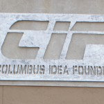 Columbus Idea Foundry Sign outside