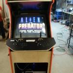 ReFab Brand Arcade Machine front