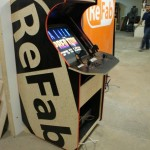 ReFab Brand Arcade Machine left