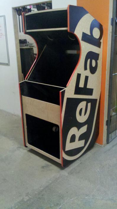 ReFab Brand Arcade Machine Part 1 - ReFab - ReFab