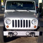 Custom Made Jeep Fog Light Flanges