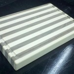 Butcher Block Cutting Board slight angle