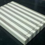 Butcher Block Cutting Board slight angle