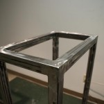 Sit/Stand desk welding frame right