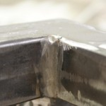 Sit/Stand desk welding frame extreme close-up_4