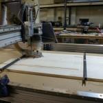 Sit/Stand Desk Shopbot CNC Router dado front