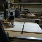 Sit/Stand Desk Shopbot CNC Router wide