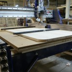 Sit/Stand Desk Shopbot CNC Router right