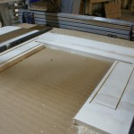 Sit/Stand Desk Shopbot CNC Router drawer cut out