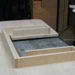 Sit/Stand desk drawer wide left