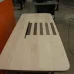 Sit/Stand desk mock-up close-up drawer square-left