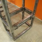 Sit/Stand desk mock-up hinges