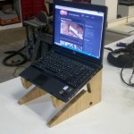 Bamboo Laptop Stand demo