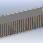 COMB WITH LOGO