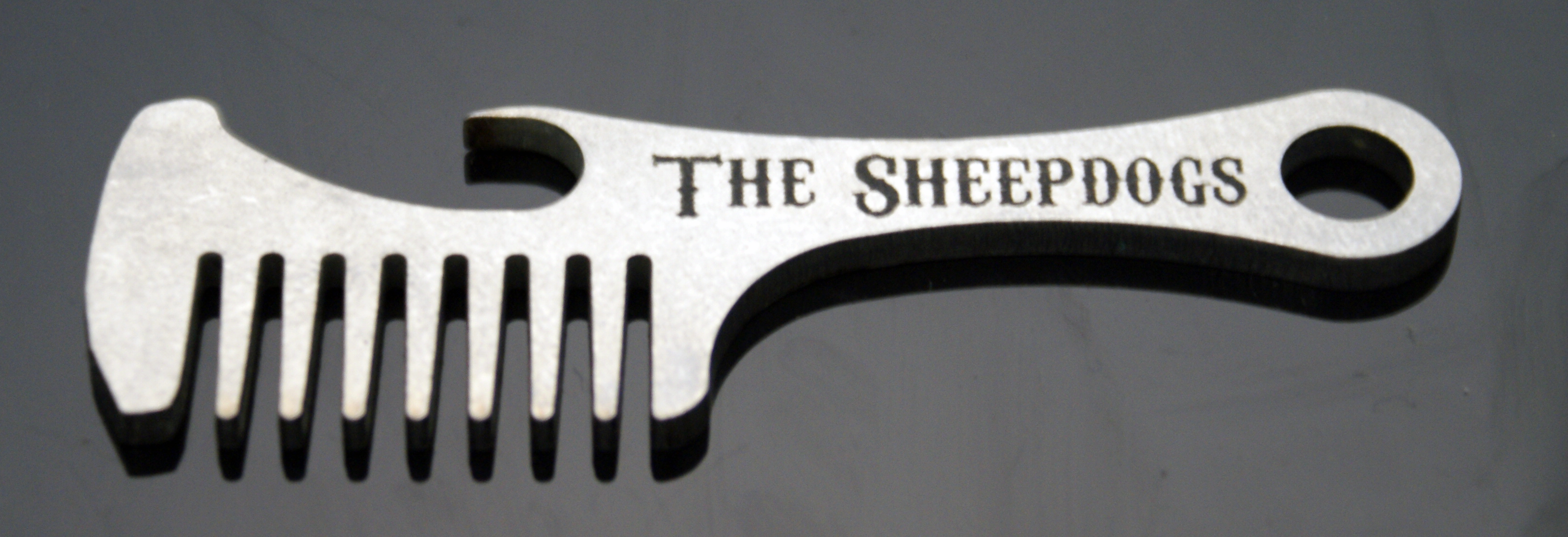 Super Beard Mustache Comb Bottle Openers For The Sheepdogs Refab Refab Hairstyles For Women Draintrainus